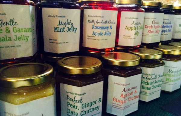 Selection Of Jams And Chutneys