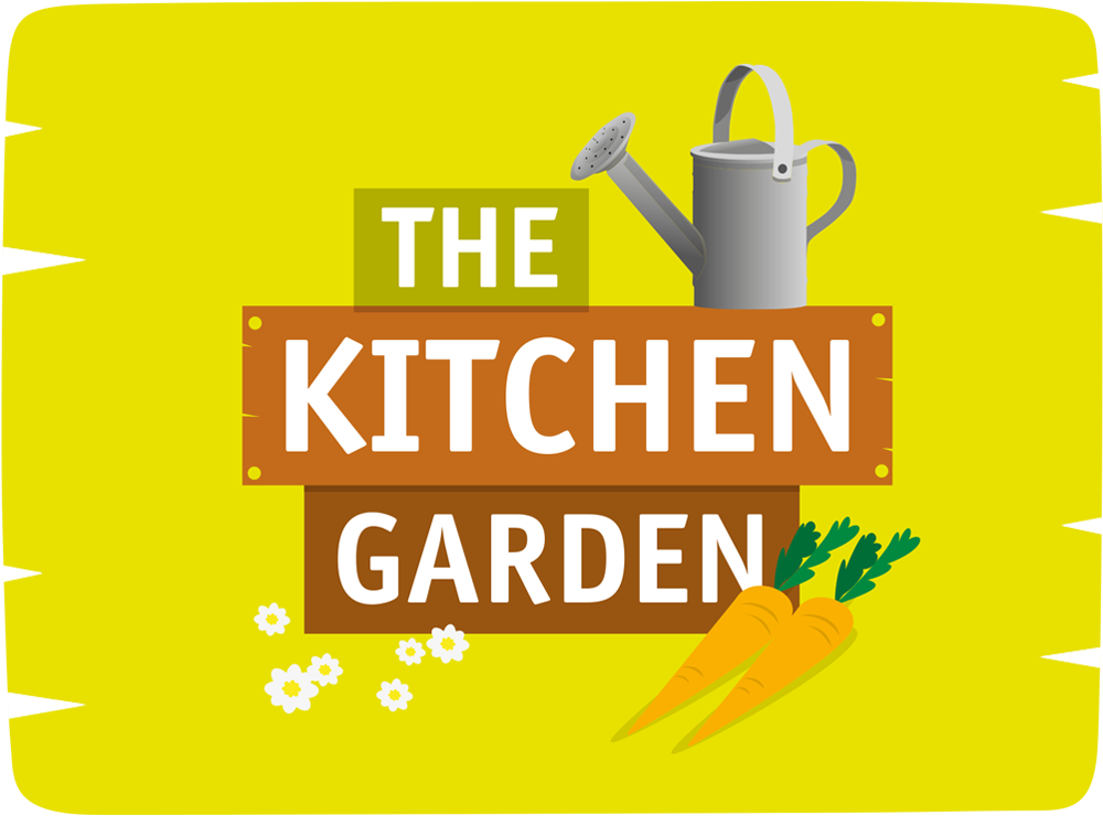 the kitchen garden sign